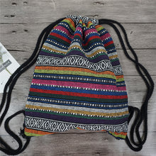 Load image into Gallery viewer, Tribal Print Backpack (15 Pattern Choices)