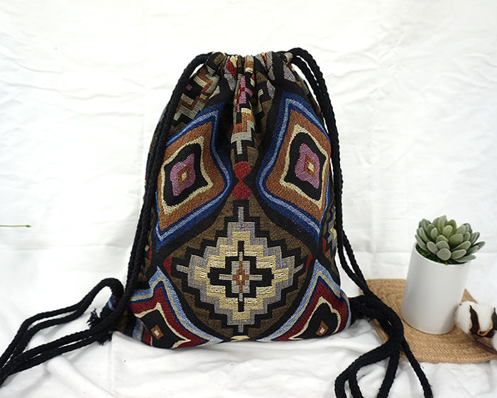 Tribal Print Backpack (15 Pattern Choices)