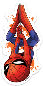 Peter Parker Spider-Man Sticker