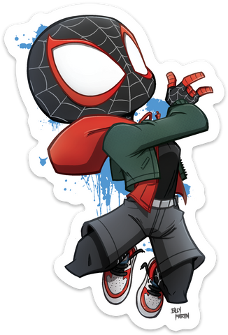 Miles Morales Spider-Man Sticker