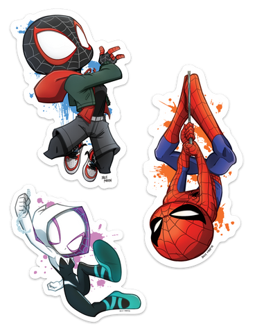 Spider-Man Spider-Verse Sticker Pack