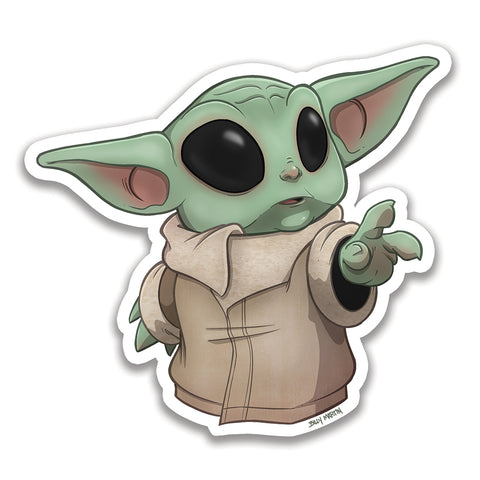 "Baby Yoda ""The Child"" Sticker"