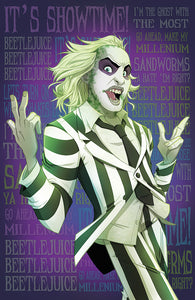 It's Showtime! Beetlejuice Print