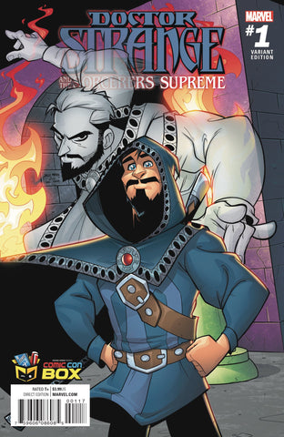 Dr. Strange and the Sorcerers Supreme #1 Variant cover (signed)