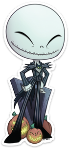 Jack Skellington Sticker