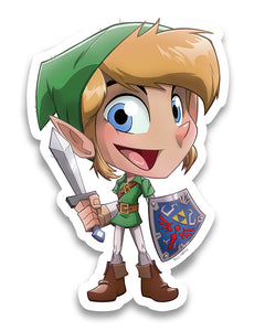 Link The Legend of Zelda Sticker