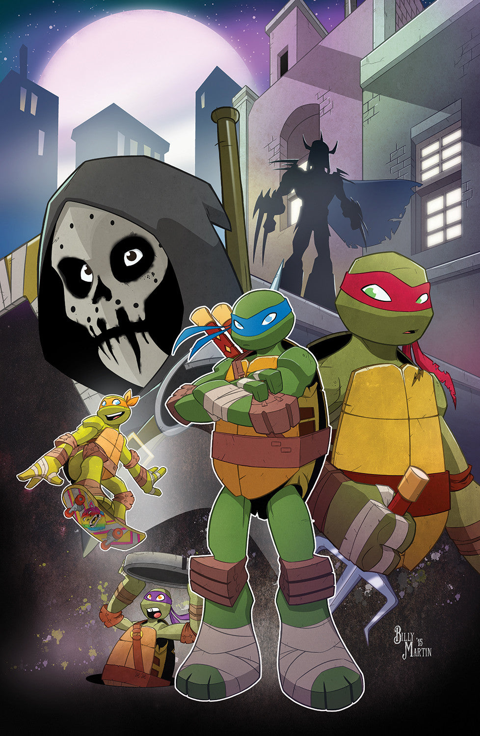 TMNT Cover Print