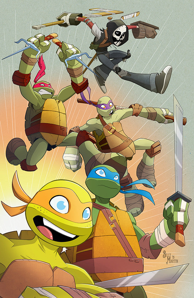 TMNT Turtle Power Print