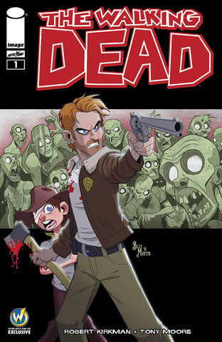 Walking Dead #1 Variant cover Wizard World Exclusive