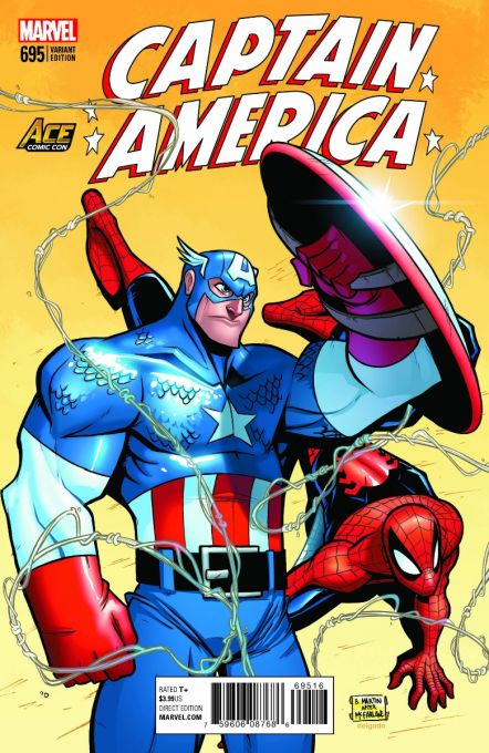 Captain America 695 ACE Comic Con Exclusive Variant