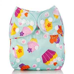 Happy Bumz Modern Cloth Nappy - Fun And Stylish - PUL - Cupcakes