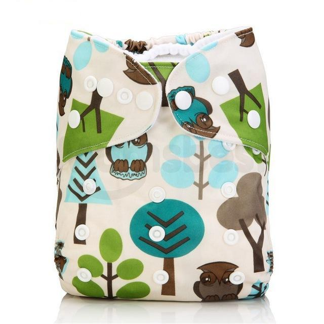 Happy Bumz Modern Cloth Nappy - Fun And Stylish - PUL - Wilderness