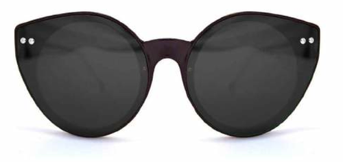 Alpha Black Black Sunglasses