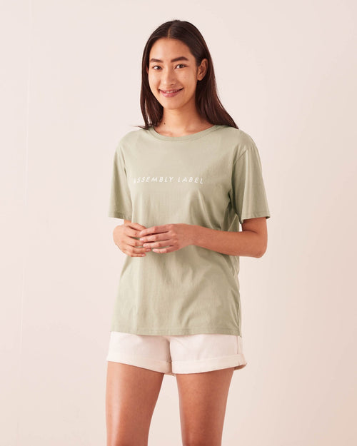 Logo Tee Soft Green