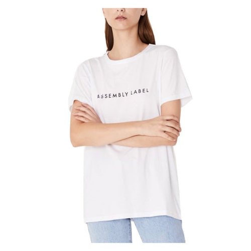Assembly Logo Tee White