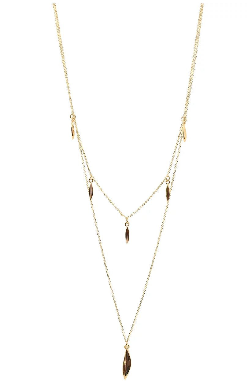 Santorini Necklace Gold