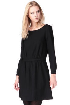 Baia Shirt Dress Plain Ecru