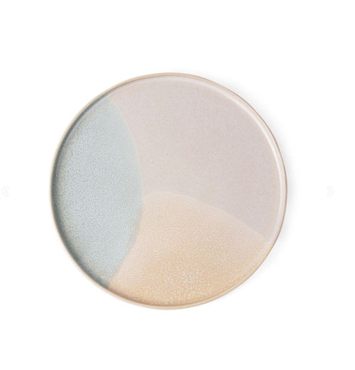 Ceramic 80s Round Side Plate Mint