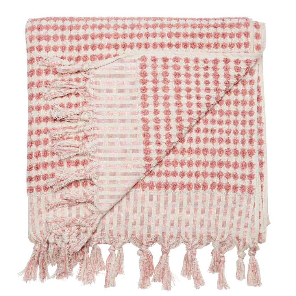 Crescent Towel Pink