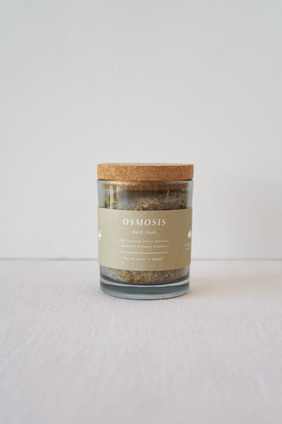 Osmosis Bath Soak Jar