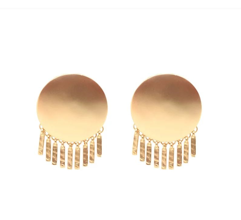 Sofia Stud Earrings Gold