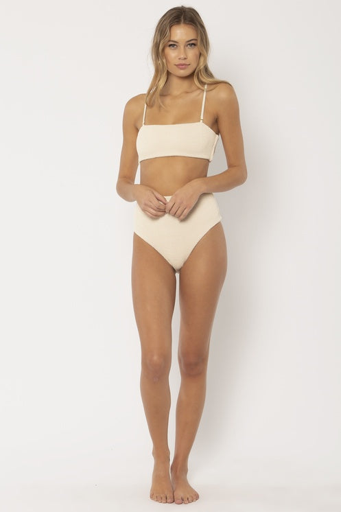 Chance Bandeau White