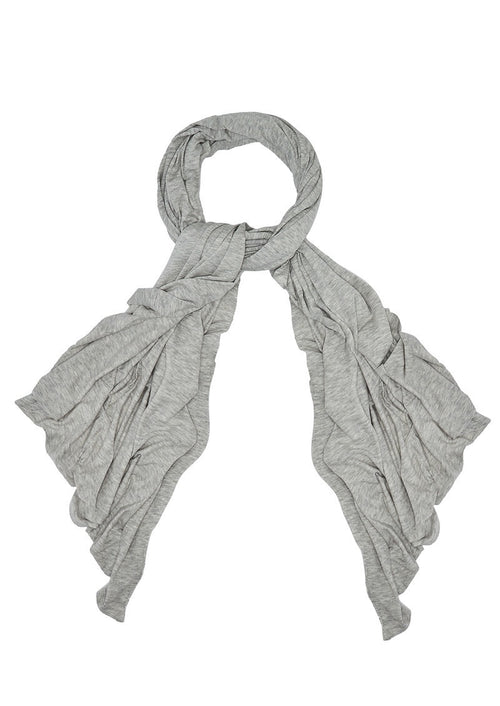 Heather Grey Albaville Scarf
