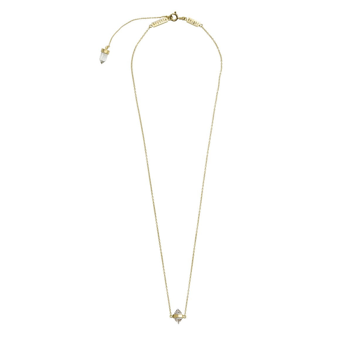 Tiny Calm Necklace Gold