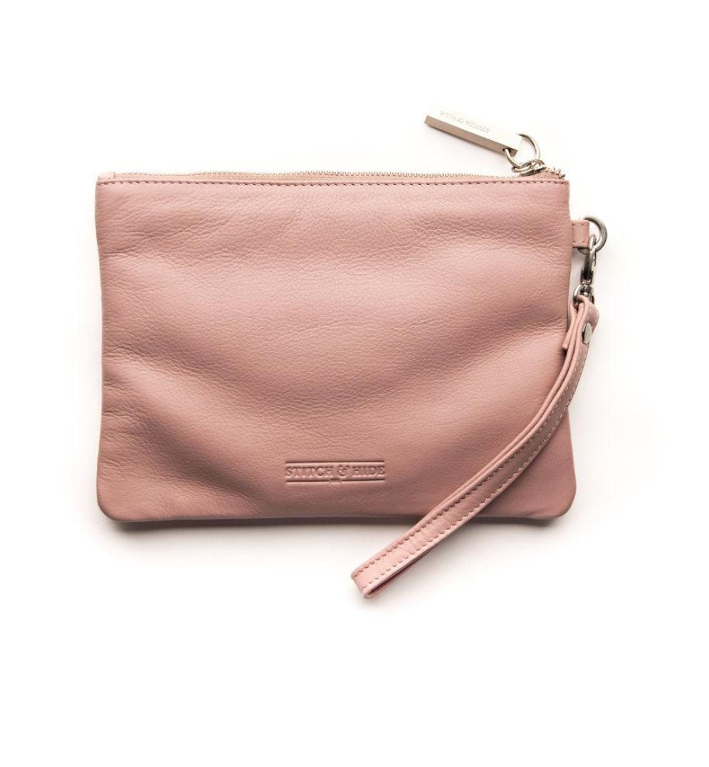 Cassie Clutch Dusty Rose