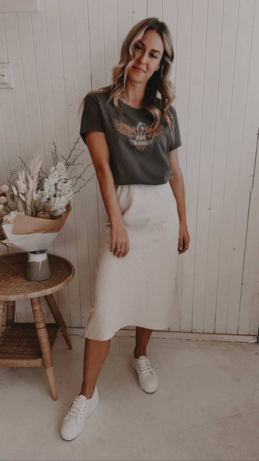 Lounge Skirt Oatmeal