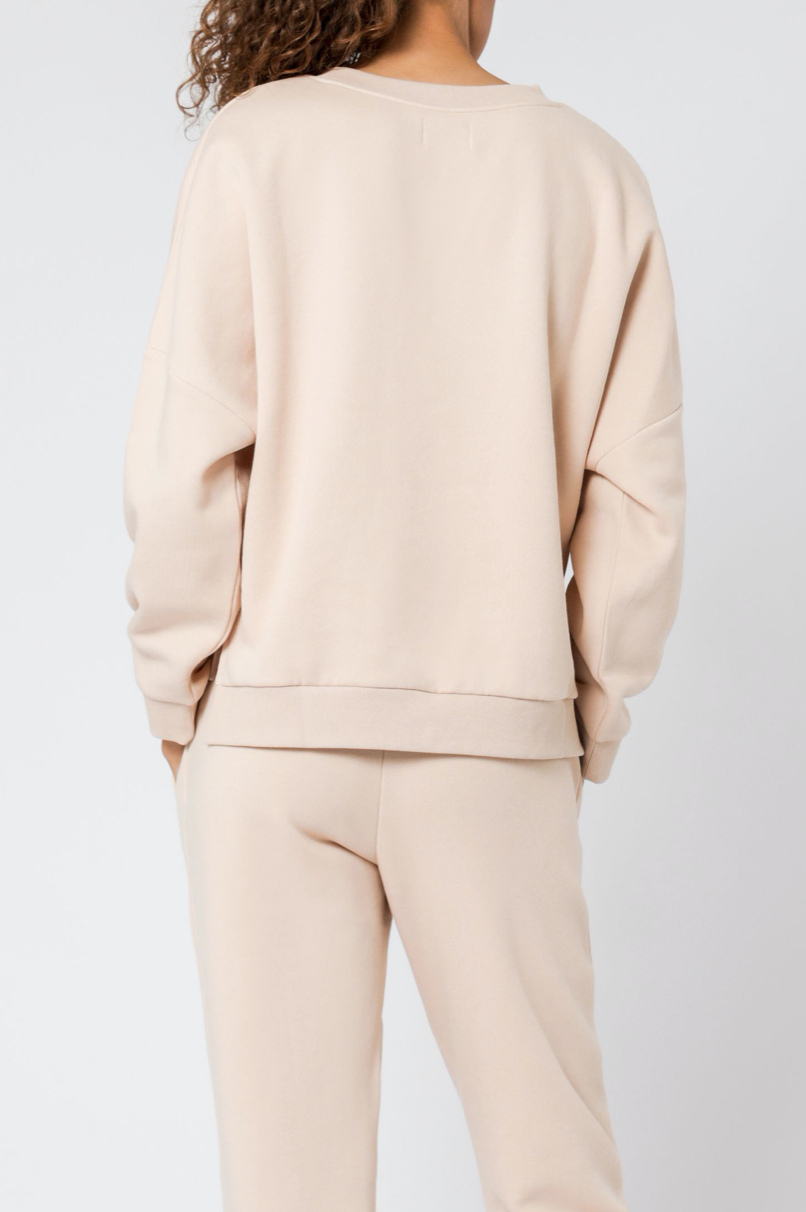 Carter Oversized Sweat Blush