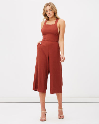 Chocolate Utopia Jumpsuit
