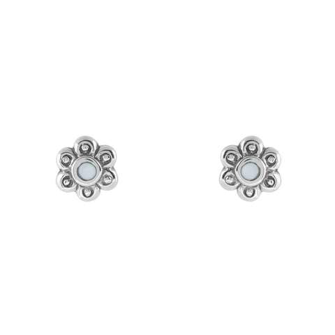 Dainty Blossom Pear Studs