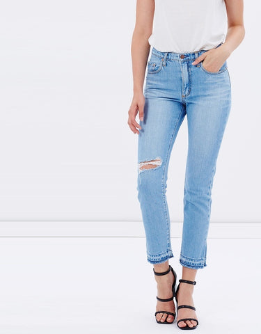 Straight Leg Jeans Pacific Blue