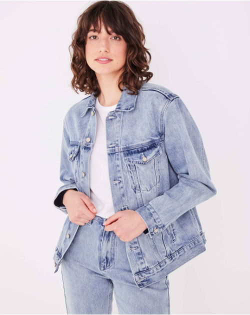 Tome Denim Jacket Pacific Blue