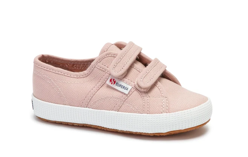 Kids Superga Double Velcro Pink