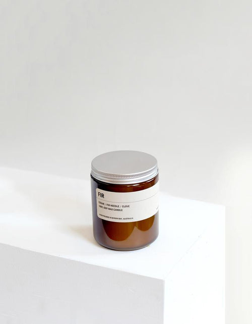 Small Soy Candle FIR