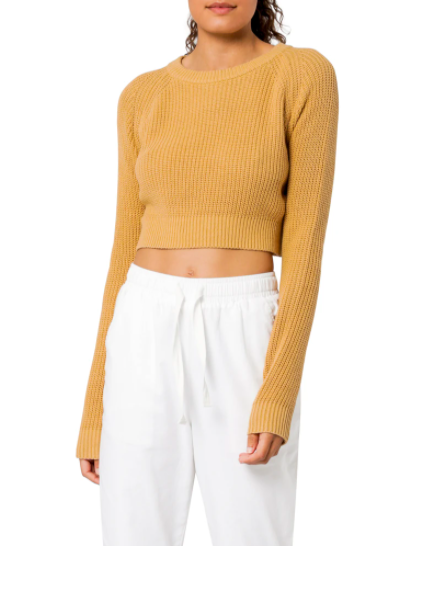 Brooklyn Knit Mustard