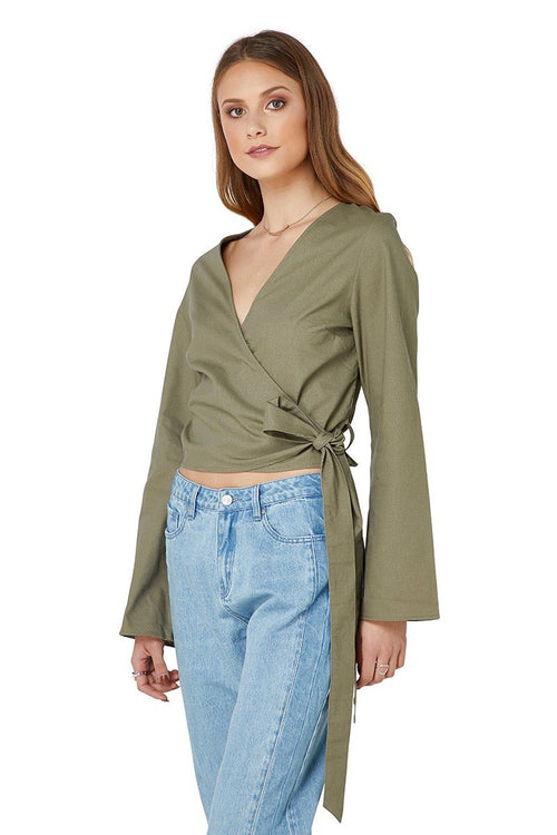 Darcey Top Olive