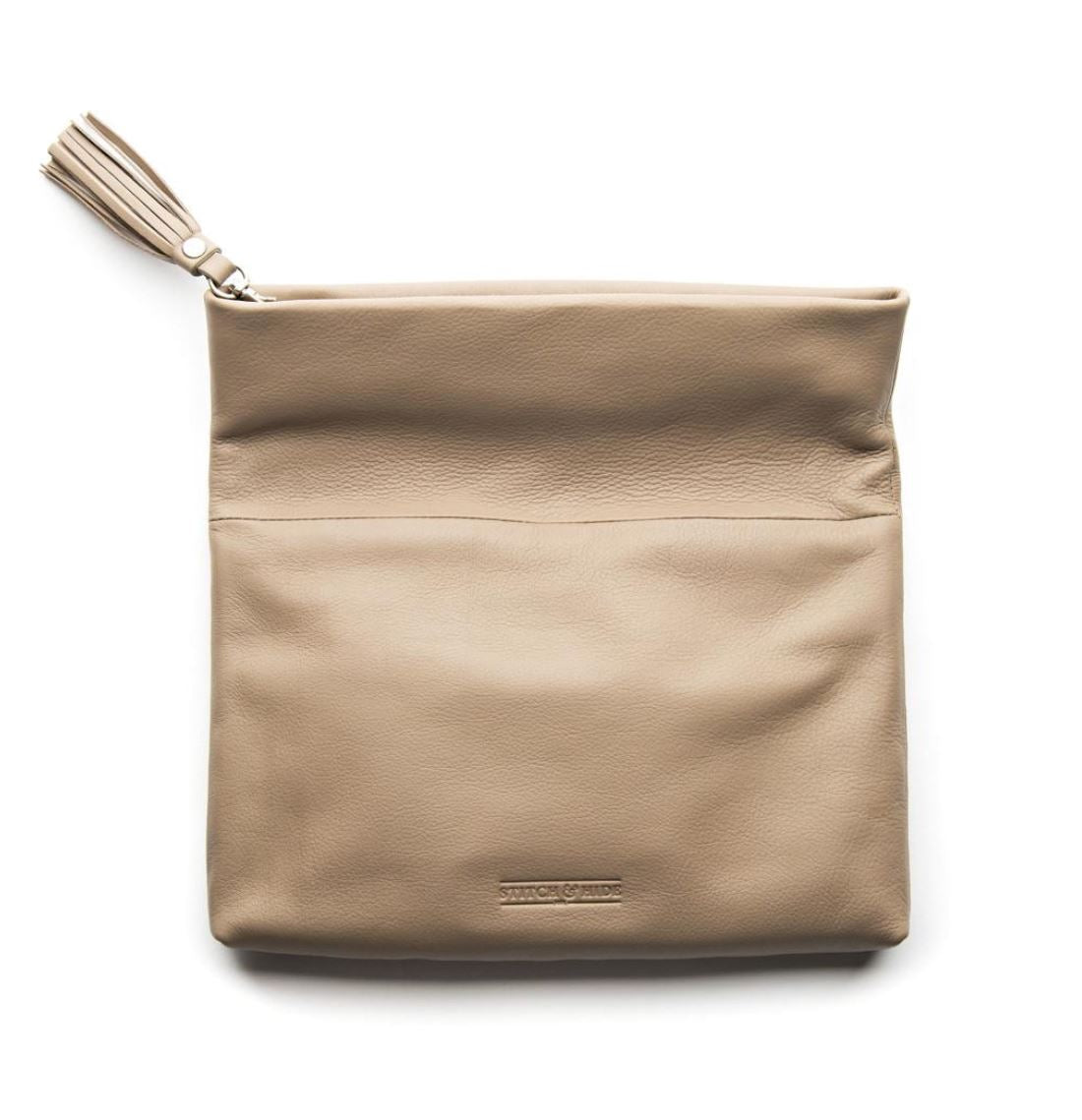 Lily Clutch Dusty Linen