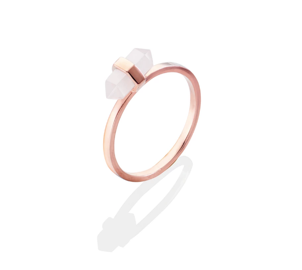 Mini Glory Ring Rose Quartz RG
