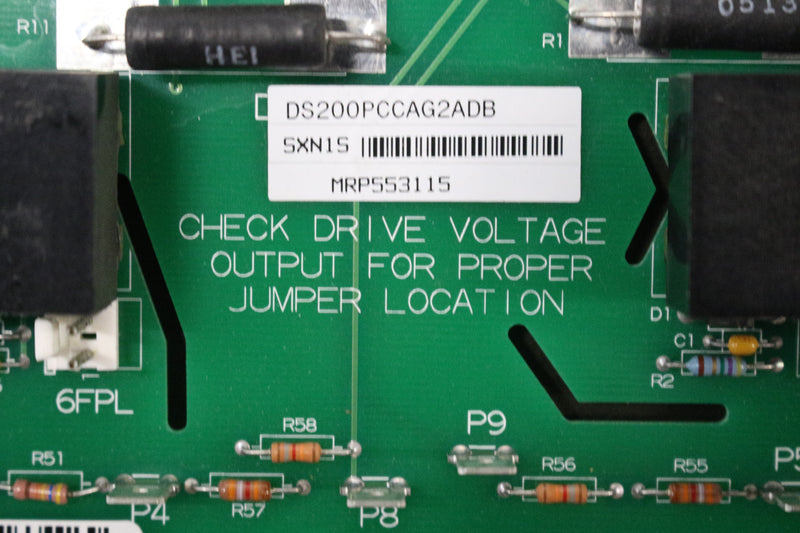 GE DS200PCCAG2A DS200PCCAG2ADB DC Power Connect Board Mark V
