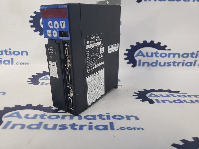 GE Fanuc IC800SLA0051 VersaMotion SL Series Amplifier IC800SLA0051A