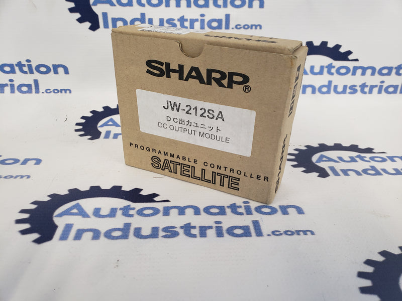 Sharp JW-212SA 16 Point DC Output Module NEW