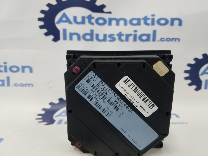 GE Fanuc IC750KBL440 KEYPAD NUMERIC KEY BLOCK 4KEYS