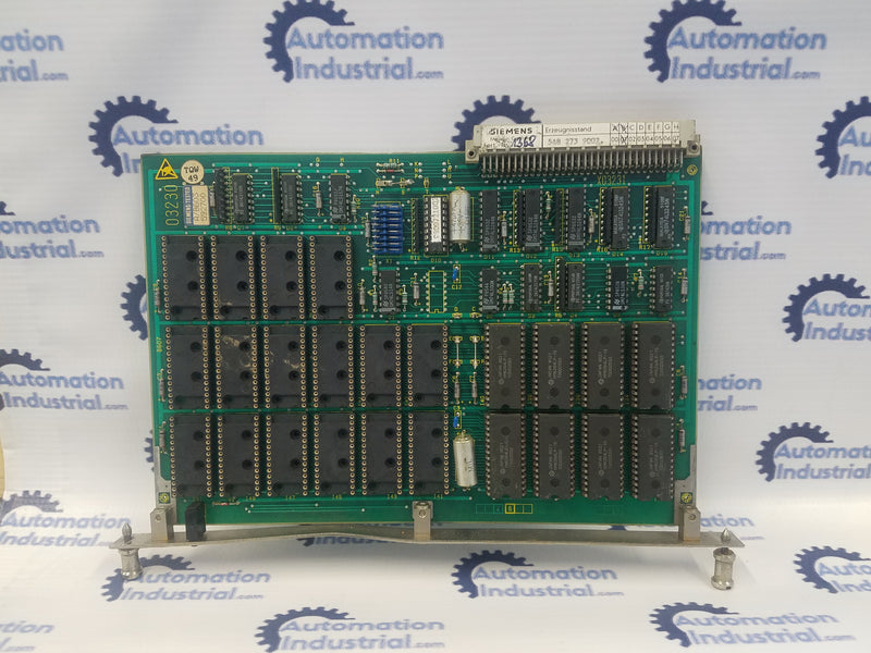 Siemens GE.548273.0001.01 Memory Module Some Eproms Missing