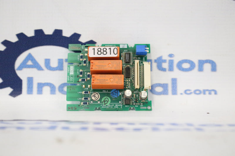 Invensys AH249712 Printed Circuit Relay Board