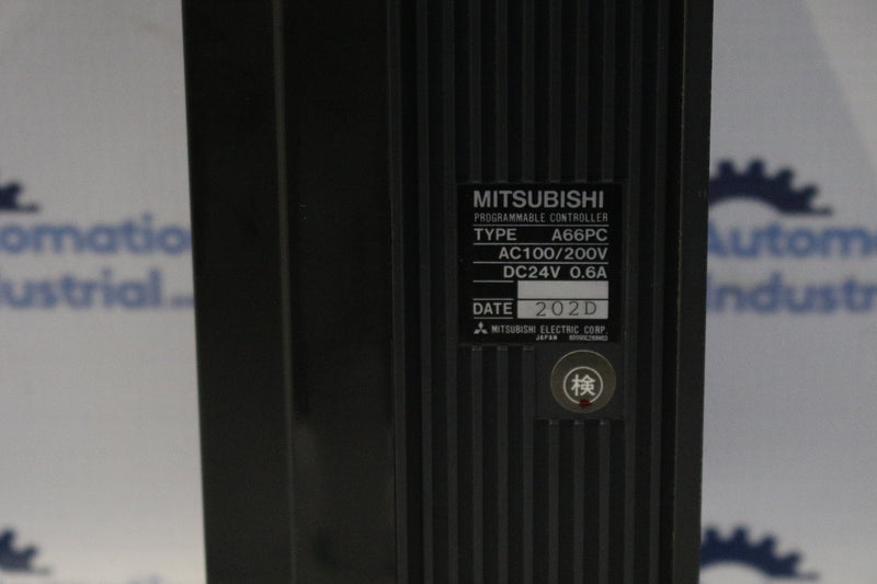 Mitsubishi A66PC Melsec Programmable Controller