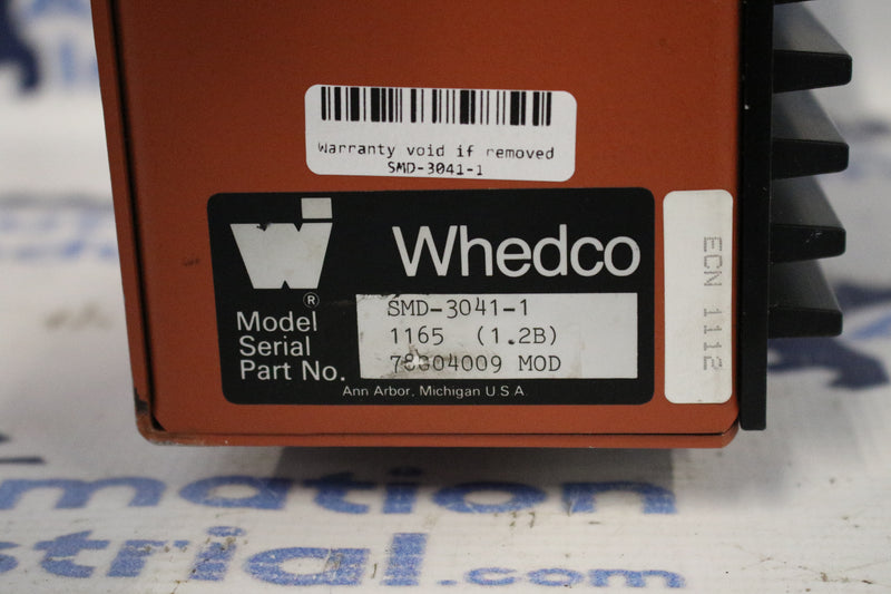 Whedco SMD-3041-1 Servo Motor Controller