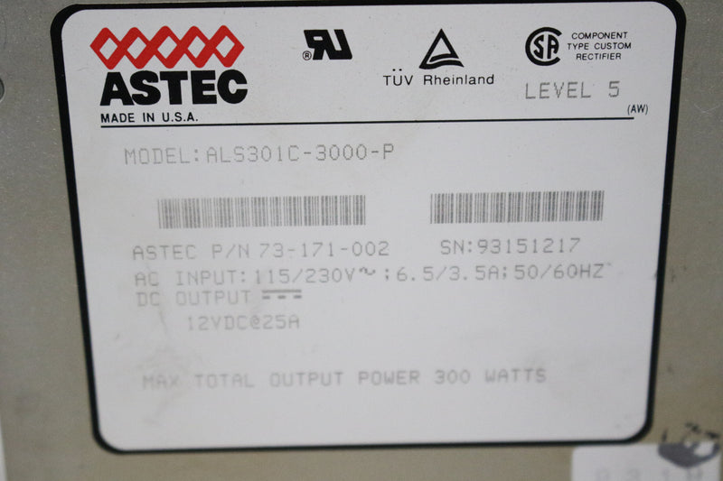 Astec ALS301C-3000-P Power Supply